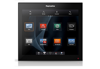 Raymarine lancerer gS195 Glass Bridge-multifunktionsdisplay