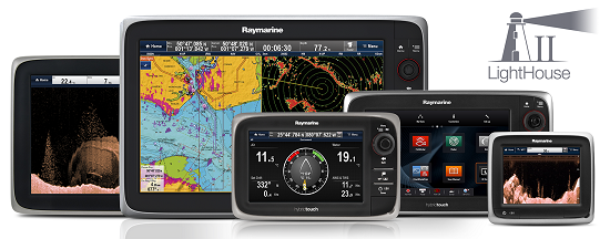 Download der Software für Mulitfunktionsdisplays | Raymarine