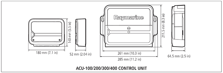 ACU Specifications  | Raymarine by FLIR
