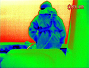 Rainbow thermal image