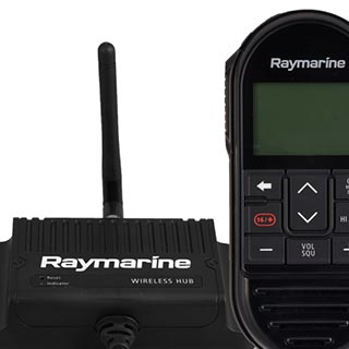 Wired and Wireless Remote Control Ready | Raymarine - A Brand by FLIR