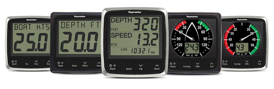 i50 and i60 Instrument Displays | Raymarine