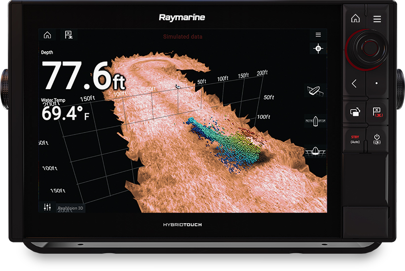 Axiom Pro 12 - 3D and 1KW Sonar | Raymarine by FLIR