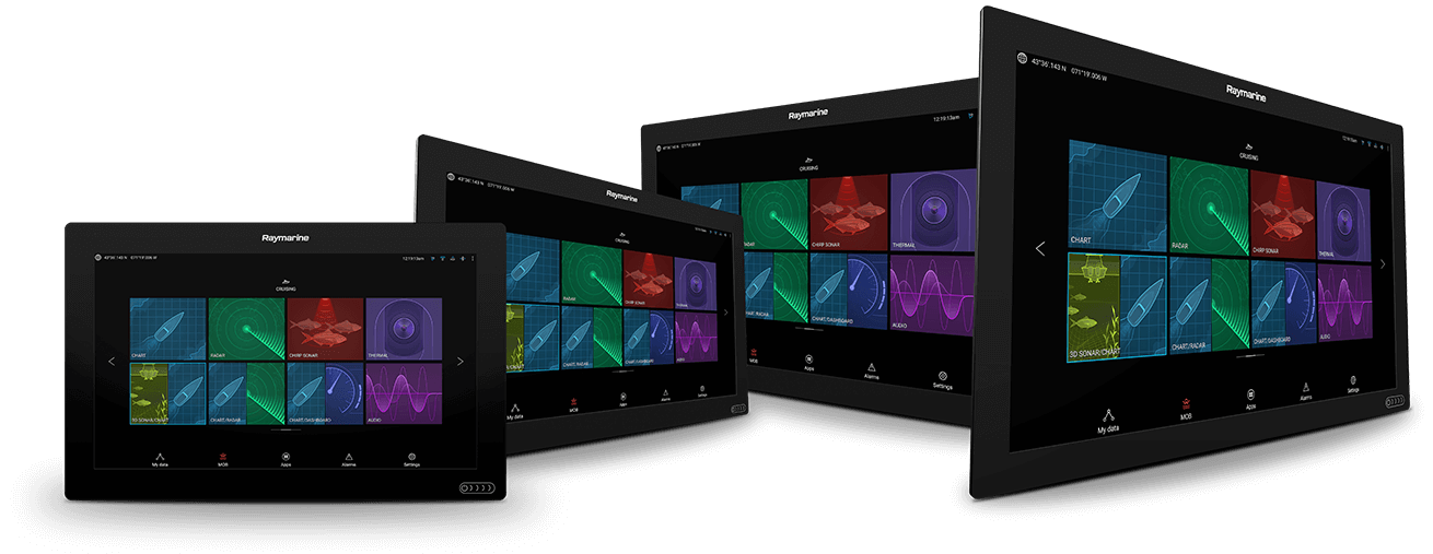 NEW Axiom XL - Glass Bridge Multifunction Display | Raymarine by FLIR
