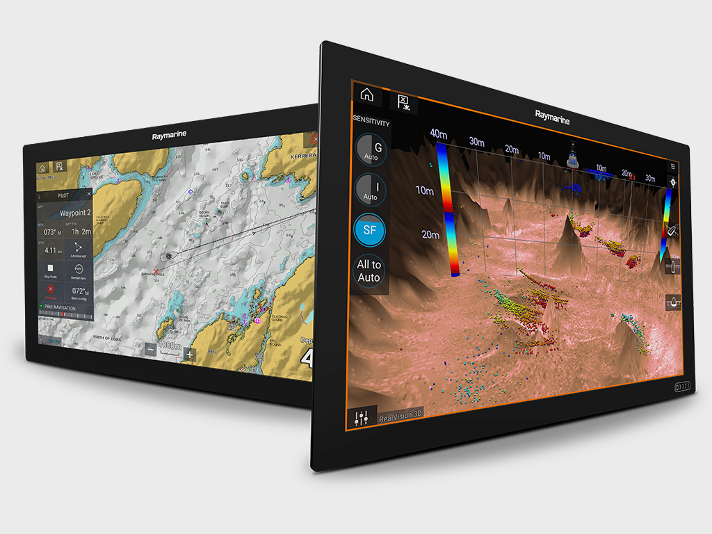 Axiom XL - 22 and 24 Inch Displays | Raymarine - A Brand by FLIR