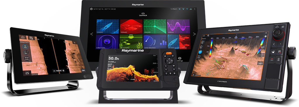 NC2 Charts - Compatible MFDs | Raymarine - A Brand by FLIR