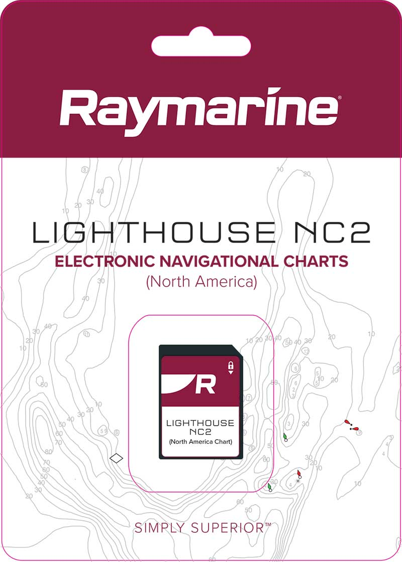NEW LightHouse NC2 Electronic Marine Charts | Raymarine - A Brand by FLIR