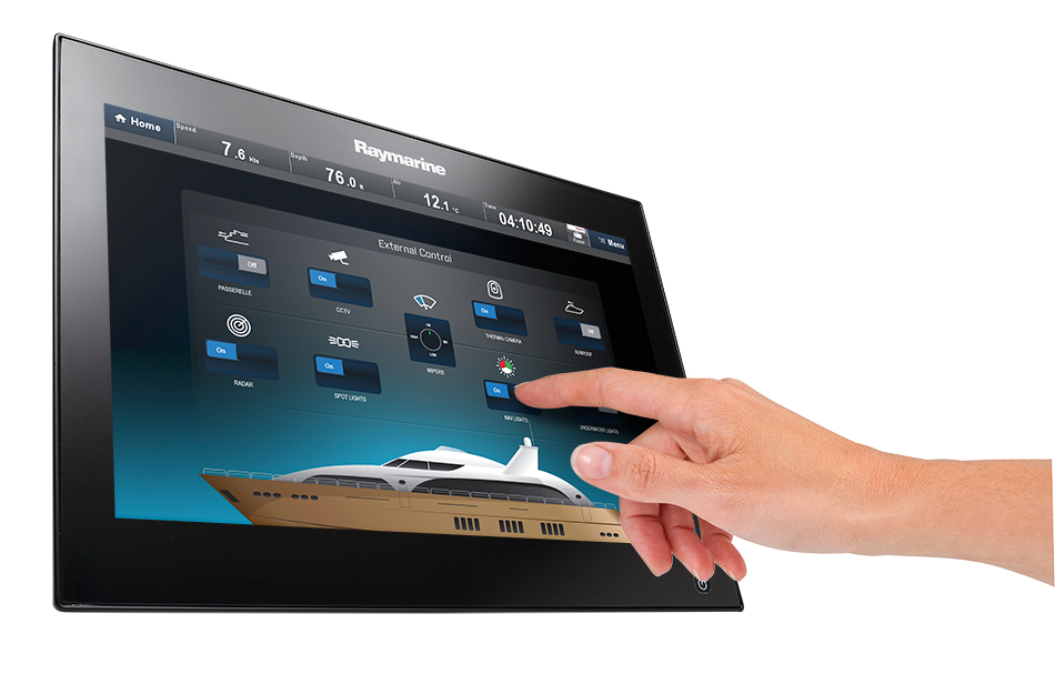 gS Series with Digital Switching | Raymarine