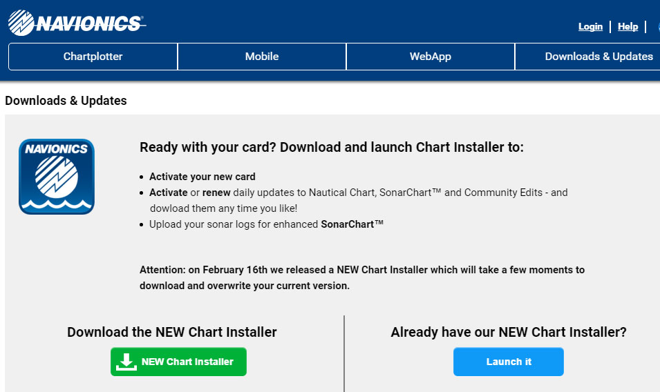 Update Your Charts | Raymarine by FLIR