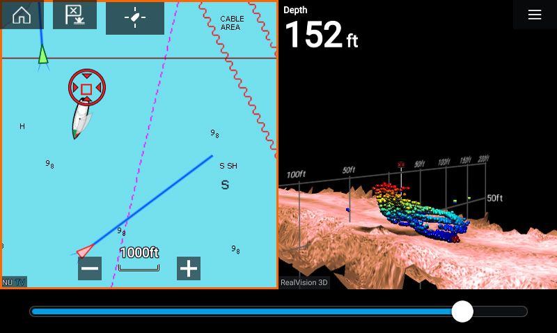 LightHouse 3.1 3D Waypoint Placement | Marine Electronics by Raymarine