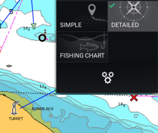 LightHouse 3 User Interface | Marine Electronics by Raymarine