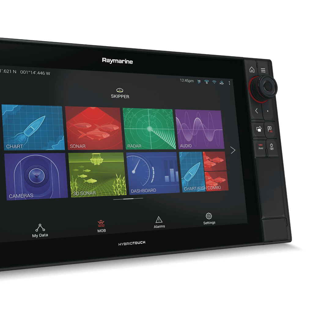 Axiom Pro 16 Home Screen | Marine Electronics by Raymarine