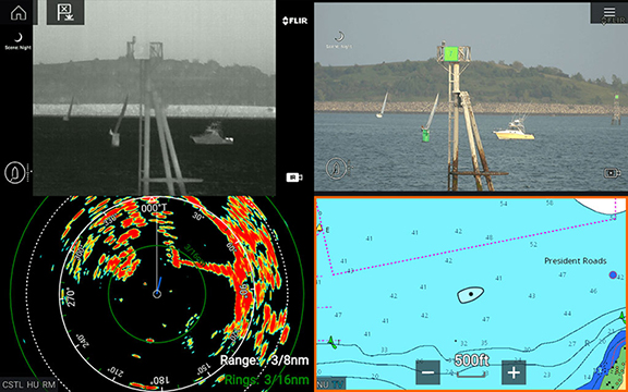 LightHouse 3.11 - Enhancements for First Responders | Raymarine - A Brand by FLIR