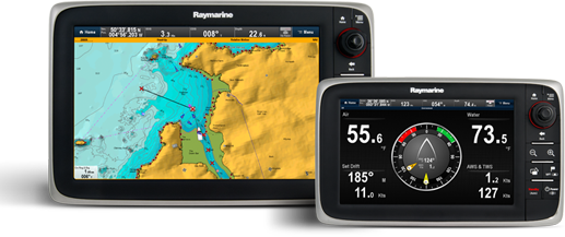 cSeries Multifunction Displays | Raymarine