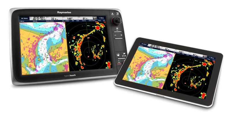 Raymarine Apps for Wi-Fi displays | Raymarine