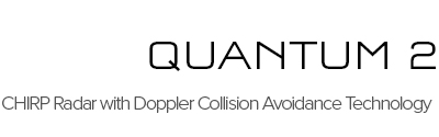 NEW - Quantum 2 CHIRP Radar with Doppler Collision Avoidance Technology  | Raymarine - A Brand by FLIR