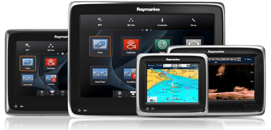 Find out more about the aSeries MFD | Raymarine