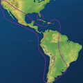 Direct TV Latin America South America Coverage | Raymarine